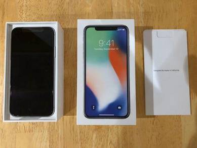 IPhone X 64gb black MY SET