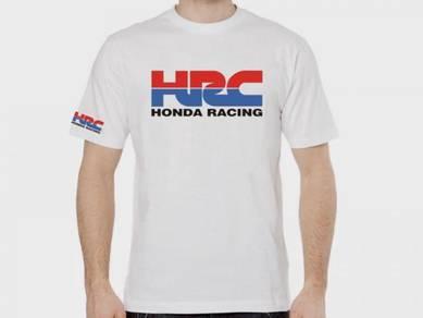 Tshirt Baju HONDA RACING HRC TSV Siap Pos Laju
