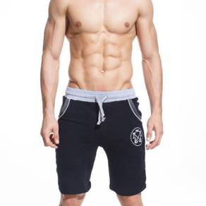 M415 Stylish Black Men Casual Sports Short Pants