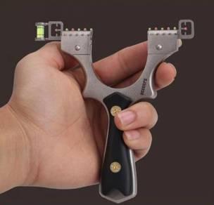 Stainless Steel Slingshot Grip | Lastik Besi