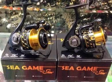Shino Sea Game 2000 ~ 5000 Fishing Reel - Pancing