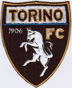 Serie A Torino FC Football Club Toro Italy Patch