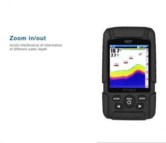 UCKY Brand Fish Finder Waterproof Monitor 2-in-1