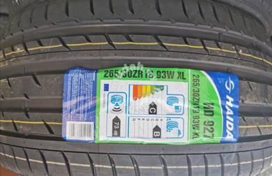 Tayar Haida HD927 265 30 19 Tyre New Year 2019