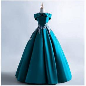 Turquoise prom wedding bridal dress gown RB1598