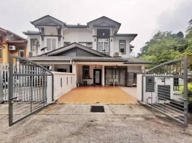 CORNER FULLY RENO 2 Sty Taman Sierra Ukay Perdana Ampang Melawati Ulu