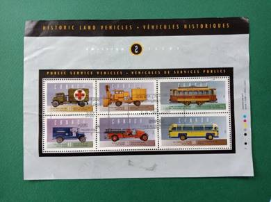 Miniature Sheet Historic Vehicles B258
