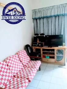TAMAN SRI PENAWAR 800SF 1CP Partly Furnished at JELUTONG WORTHBUY UNIT