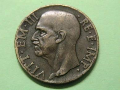 Italy 10 Cents 1940