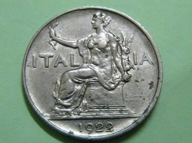 Italy 1 Lira 1922