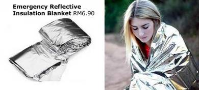 Emergency Reflective Insulation Blanket Shelter