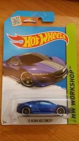 HotWheels '12 Acura NSX Concept