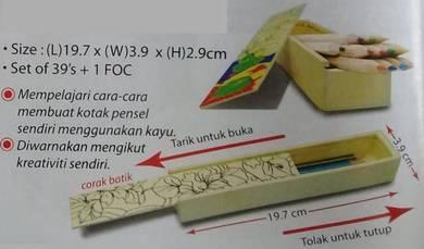 Set Memasang & Mewarna Kotak Pensel