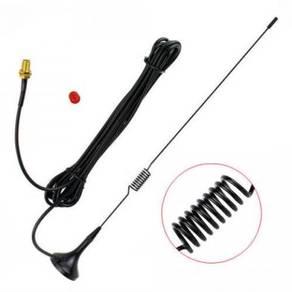 Mini car antenna 15cm UHF band baofeng kenwood SMA