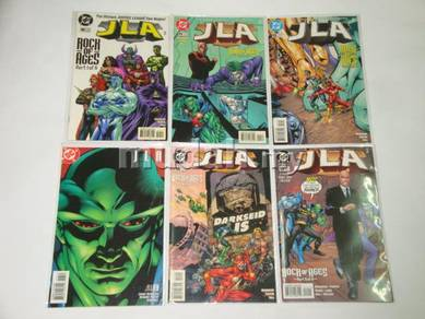 JLA issue 10 - 15. Rock of Ages. complete set
