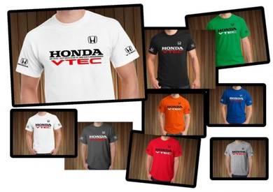 Tshirt Baju HONDA VTEC H15 TSV Siap Pos Laju