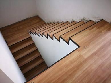 Vinyl Floor Lantai Timber Laminate PVC Floor Z289