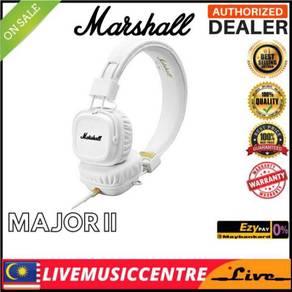 Marshall Major 2 Headphones, White (Major II)