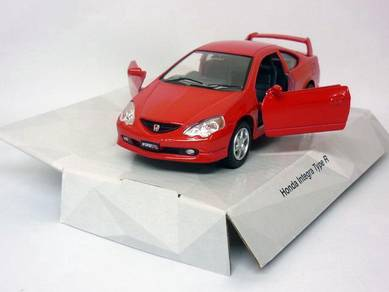 Honda Integra DC5 TYPE R 1/34 Die cast car - Red