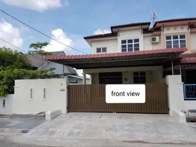 Ipoh Chemor Rumah CORNER tengah, 2 tingkat, 30x70, FREEHOLD