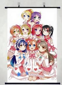 Anime Love Live Wallscroll
