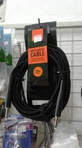 Ashton Instrument Cable 20ft GW20B