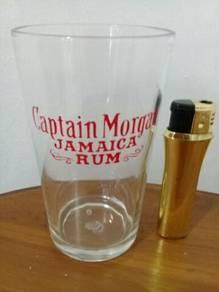 119 Gelas captain morgan not coke pepsi 7up
