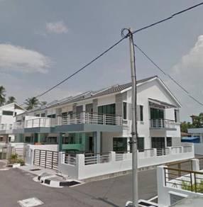 Balik Pulau New 2 Storey Corner House (Selling Cheap)