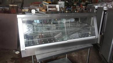 Used display warmer table top 4ft