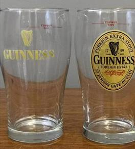 Cawan vintage Guinness glass cup 2