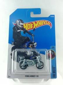 Hotwheels HW Moto Honda Monkey Z50 #2 Blue