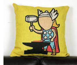 Thor cute pillow (yellow)