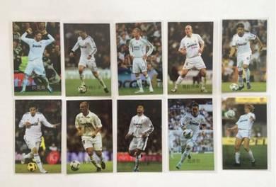 Real mardrid Pepe Ronaldo Morata Luka poster card