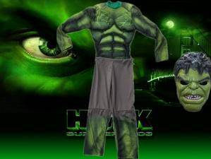 The hulk cosplay costume cloth