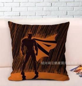 Superman rain shadow pillow