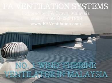 BL21-Q FA Wind Turbine Ventilator FREE FLOATING US