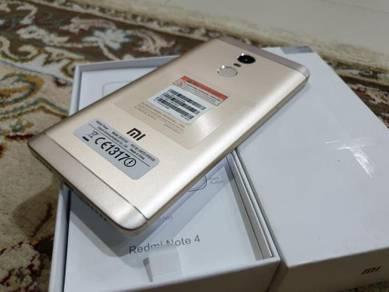 (99.9% NEW) Xiaomi Redmi Note 4, / 64GB/4GB RAM, 5