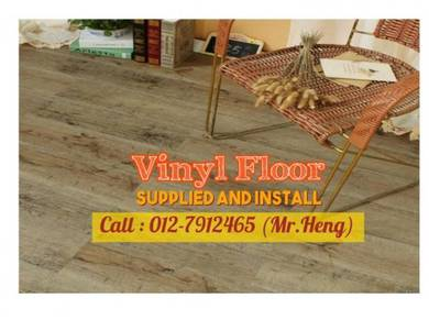 Simple Vinyl Floor with Installation 75CE