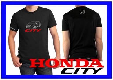 Tshirt Baju HONDA CITY H8 TSV Siap Pos Laju