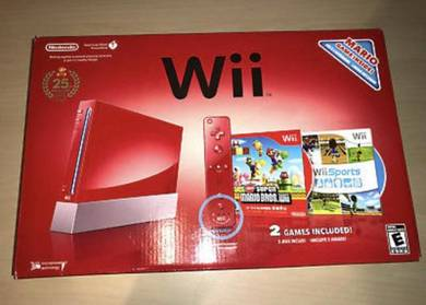 Nintendo Wii Brand New Super Mario Bros 25th Anniv