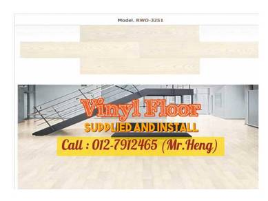 Install Vinyl Floor for your Shop-lot KL59