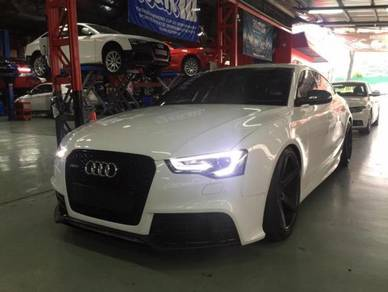Audi a5 rs facelift front bodykit
