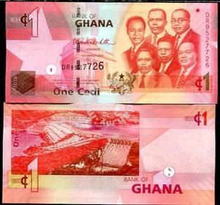 Ghana 1 cedi 2013 p 37 new unc