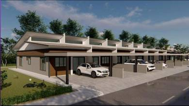 Tuaran New Modern Double & Single Storey Link House