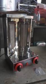 Used gas kebab burner forsale