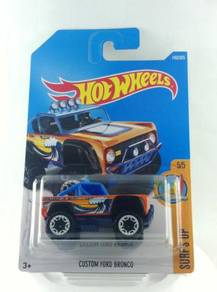 Hotwheels Surf's Up Custom Ford Bronco #5 Orange