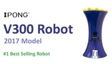 IPong V300 Portable Table Tennis Training Robot