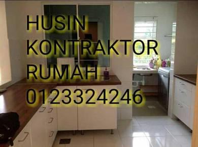 Kontraktor rumah /pejabat area mantin