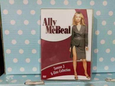 DVD Ally McBeal Season 3 - 6 disc collection
