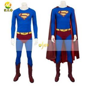 Justice league superman cosplay costume for man